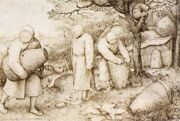 Pieter Bruegel the Elder The Beekeepers and the Birdnester 1568 г. Staatliche Museen, Berlin